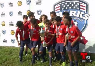 Puro Gol: Buen fútbol en Liga Juvenil del Sur de la Florida