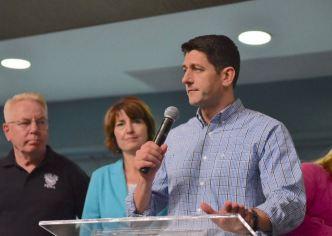 Paul Ryan llega a Puerto Rico
