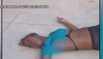 Nuevas imágenes de violencia en Miami Beach