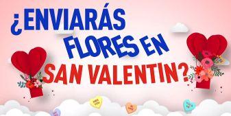 Consejos para comprar flores en San Valentín