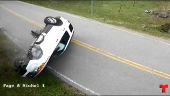 """""""Ataque de estornudos"""" al volante detona insólito desenlace"""