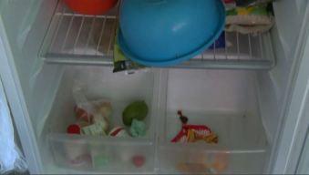 Así vive una madre la escasez de alimentos en Caracas