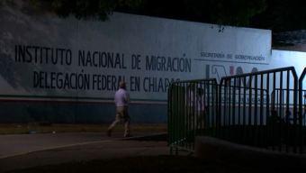 Escapan casi 100 cubanos migrantes en Chiapas