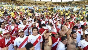 Así se vivió la final de Copa América entre Brasil y Perú