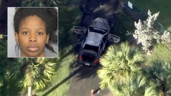 Arrestada por muerte de hombre hallado en auto incendiado