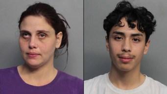 Madre e hijo acusados de tener cocaína y marihuana