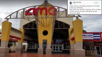 Investigan amenazas de tiroteo en popular cine de Miami
