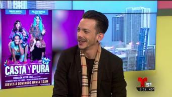 """Actor Carlos Montiel presenta la comedia """"Casta y pura"""""""