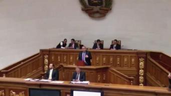 Asamblea de Venezuela busca apoyo de otros países