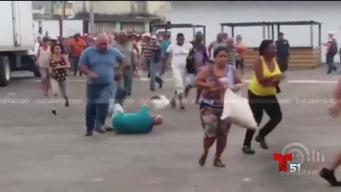 Avalancha de cubanos para comprar carne de cerdo