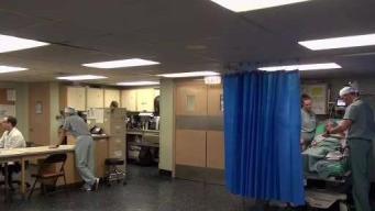 Buque hospital de EEUU ayuda a venezolanos en Colombia