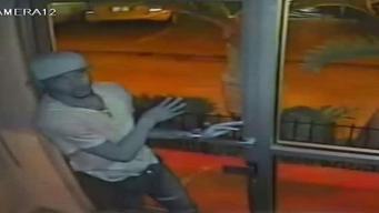 Buscan sujeto que robó por la fuerza hotel de Hollywood