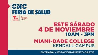 Feria de salud gratuita este sábado