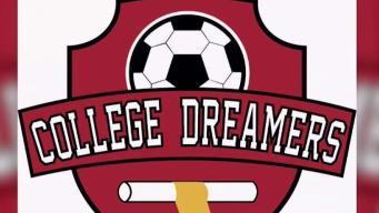 College dreamers apoya el sueño de los futbolistas