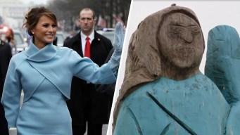 Controversia por estatua de Melania en su natal Eslovenia