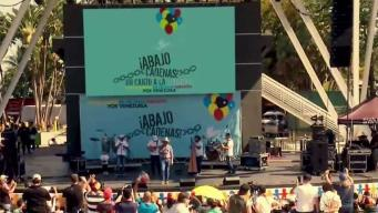Concierto en Miami por la libertad de Venezuela