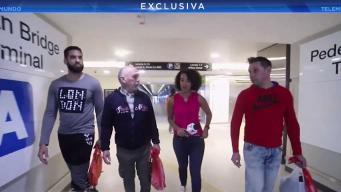 Cubanos liberados de centro de detención