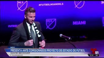 David Beckham comparte con la comunidad de Miami