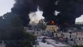 Dominicana atiende a heridos por explosión