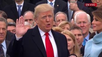 Donald Trump es juramentado como presidente