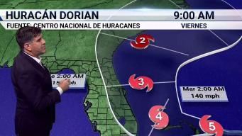 Dorian es ahora un devastador huracán Categoría 5