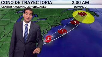 Dorian sigue su paso por costa de Florida