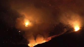 El sur de California en emergencia por los incendios