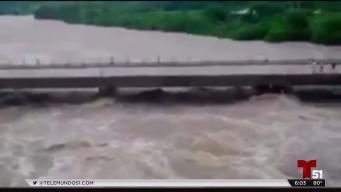 En video derrumbe de puente en Cuba