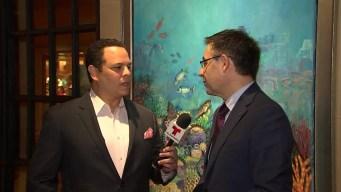 Entrevista con el Presidente del Barcelona y Pau Gasol