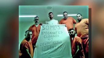 Esperan deportación de un grupo de cubanos
