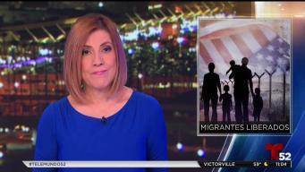 Estadísticas de migrantes liberados