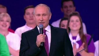 Putin se postula para la reelección