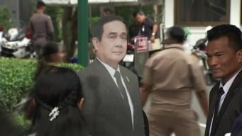 Primer ministro de Tailandia le hace desplante a periodistas