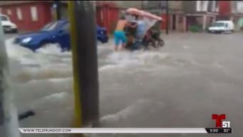 Fuertes inundaciones en Ciego de Avila