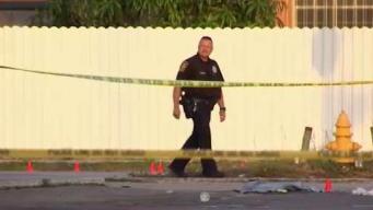 Hombre hospitalizado tras balacera en Miami