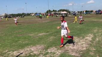 Video desde las canchas: Jason Lobo de Miami con 9 años II Parte
