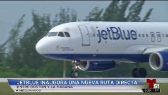 JetBlue inaugura nueva ruta a La Habana