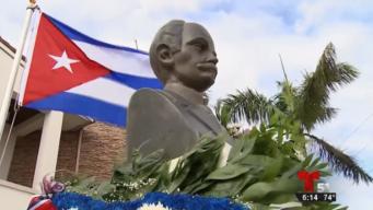 Exilio cubano reivindica a Martí en su natalicio