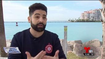 Joven cubano documenta su travesía