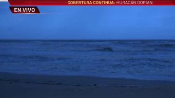 Florida ya empieza a sentir fuertes vientos por Dorian