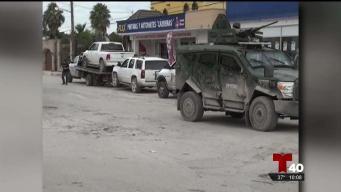 Envían nuevos elementos militares a Tamaulipas