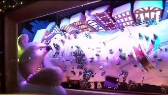 Macy's revela sus impresionantes vidrieras de Navidad