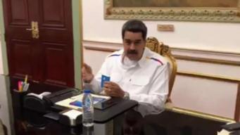 Maduro revela detalles de diálogo con la oposición en Noruega