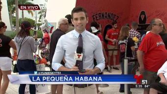 Miami rinde tributo a José Fernández en Marlins Park