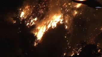Incendio en Monrovia