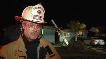 Declaraciones bomberos sobre accidente aereo mortal