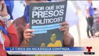 Nicaragüenses toman las calles por libertad y justicia
