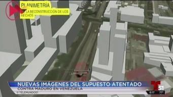 Nuevos videos del supuesto atentado de Maduro