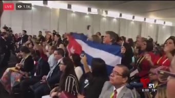 Oficialistas cubanos boicotean encuentro de opositores en la Cumbre