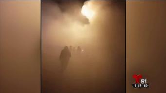 Otro accidente con fuegos artificiales en Zulueta